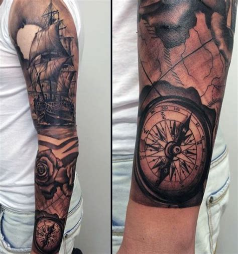 navy sleeve tattoos designs ideas and meaning tattoos