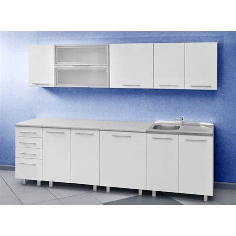 meubles haut de cuisine pas cher cuisine discount en kit coloris module de 2m60