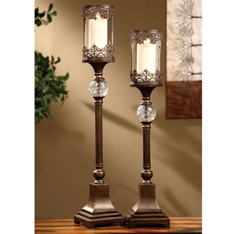 phenomenal metal pillar candle holder 17 best images about candles and candle holders on floor candle holders
