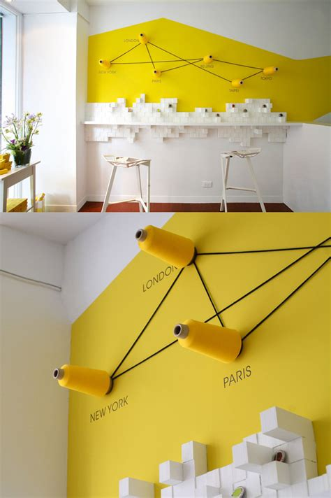 home design with yellow walls 44 yellow feature wall interior design ideas