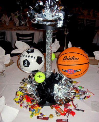 banquet table centerpieces 79 best images about sports banquet on
