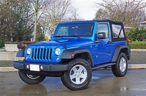 2016 Jeep Wrangler Review 2016 Jeep Wrangler Sport S Road Test Review The Car Magazine