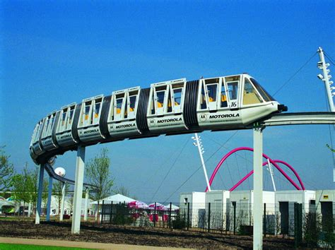 Another Word For Comfortable Intamin Transportation P6 Monorail