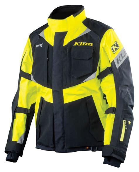 yellow motorcycle jacket klim badlands pro hi vis jacket size sm only revzilla