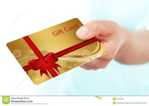 Empty Visa Gift Card Number - holding and giving credit card over white background stock image cartoondealer com