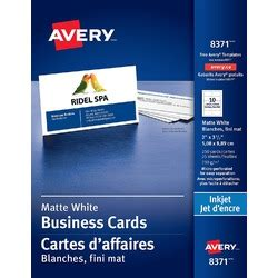 will open office work with avery business cards templates avery perforated business cards for inkjet printers
