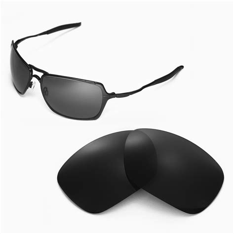 Oakley Inmate Xx Gun Lens Black new walleva polarized black lenses for oakley inmate ebay