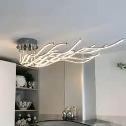 decken leuchten sculli design led deckenleuchte mit metallarmen 11514