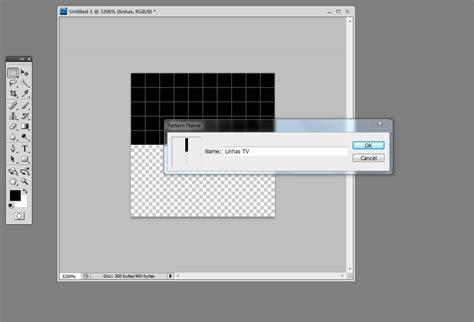 pattern photoshop o que é tutorial photoshop 9 efeito imagens de tv pplware