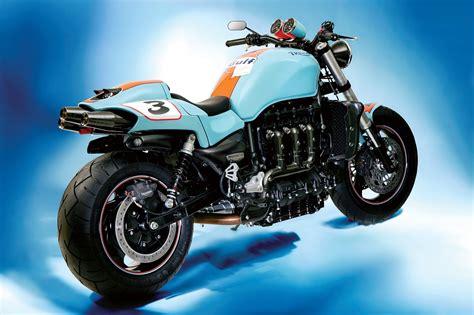 gulf racing motorcycle racing caf 232 triumph rocket iii rs by palatina