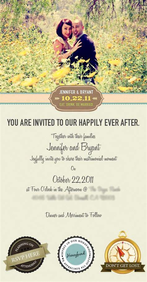 electronic wedding invitation templates 50 stunning wedding invitations you the designer