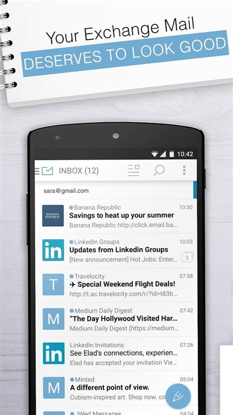 email exchange apk email exchange by mailwise 3 4 7 apk android communication apps