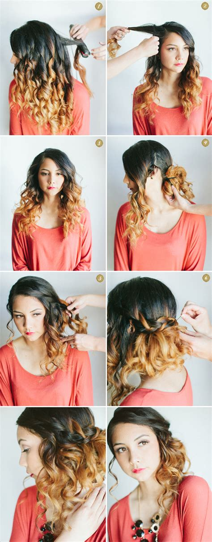 diy side hairstyles fashionsycom