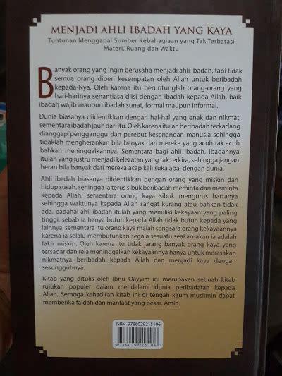Buku Bidayatul Mujtahid Fiqih Perbandingan Mazhab 2 Jilid buku menjadi ahli ibadah yang kaya