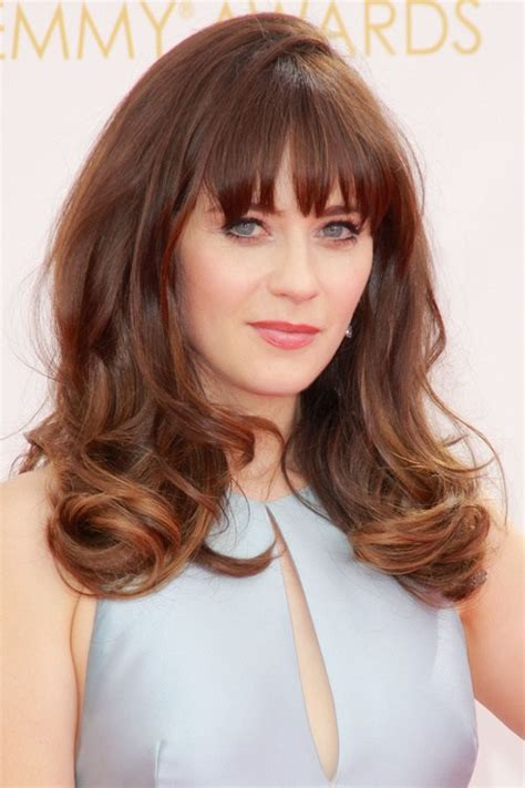 hair cut with a defined point in the back 25 best fringe hairstyles to refresh your look