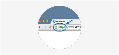 how to tell if your is how to if your website connection is secure dropbox