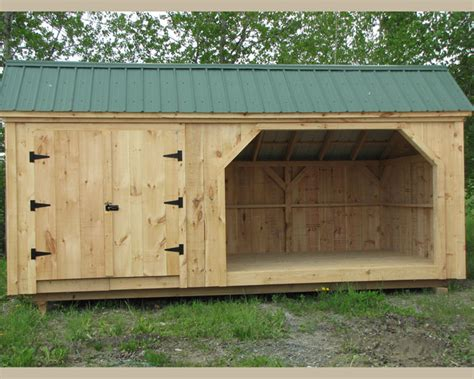 How To Build A 10x20 Shed by 10x16 Shed Plans Equipment Storage Shed Woodshed Plans