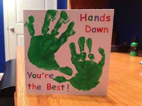 Handprint Birthday Cards 23 Best Images About Handprint Cards On Pinterest