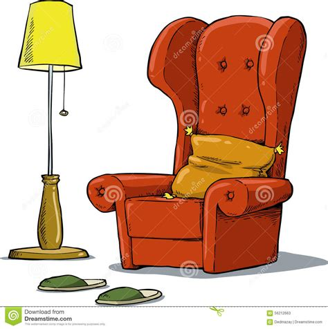 cozy armchair cozy armchair stock vector image of decor elegance