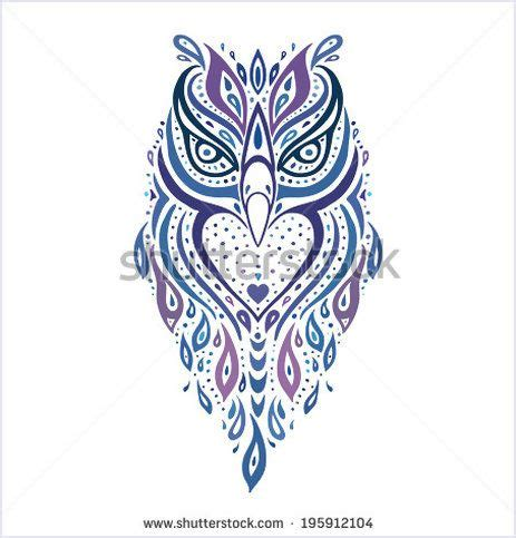 gambar tribal pattern owl 515 best images about tattoostockfinder com tattoo stock