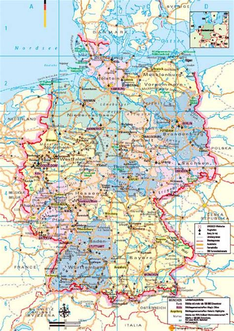 free map of germany germany map free colouring pages