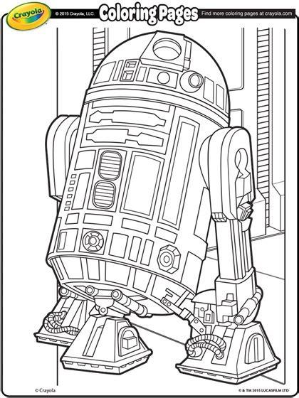 disney coloring pages wars wars r2d2 coloring page crayola