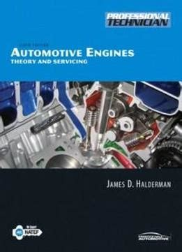 automotive engines diagnosis repair rebuilding books automotive engines theory and servicing 6th edition