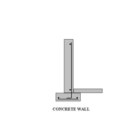 cast in place concrete wall section choosing the right type of walls for your energy efficient