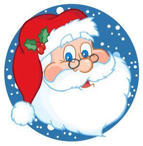 christmas clipart image jolly santa
