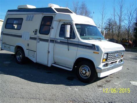 Ford Rv by 1989 Ford Cutaway Rv Cer Recreational Trans