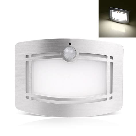 battery powered wall sconce light motion sensor activated led wall sconce battery operated