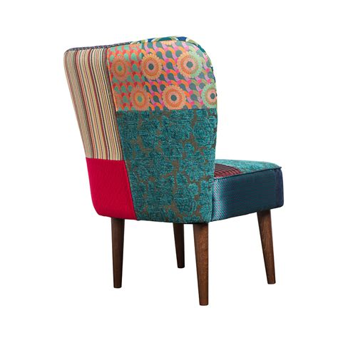 Patchwork Products - buy desigual patchwork jacquard chair green amara