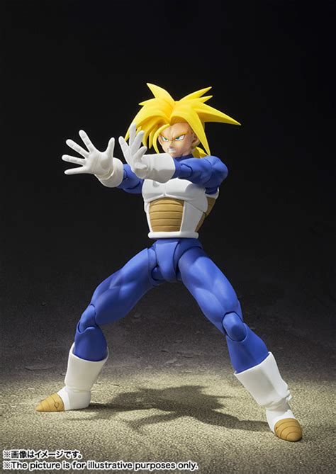 Fzo Figuarts Zero Trunks Saiyan New s h figuarts saiyan trunks figure announced for may