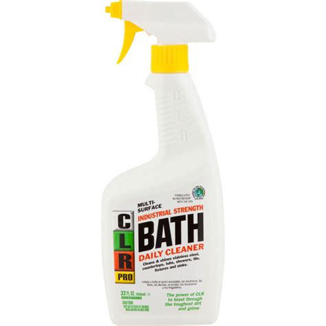 clr bathtub 32 oz clr pro bath cleaner the cary company