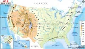 us map with landforms labeled regents mr tony u s history