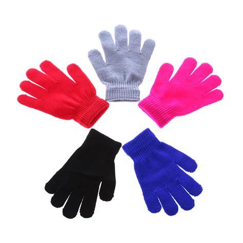 8 Pairs Of Mittens And Gloves by 1 Pair 2017 Fashion Children Magic Glove Mitten