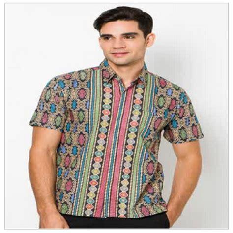 Harga Baju Merk Eiger model baju batik pria lengan panjang modern modis terbaru