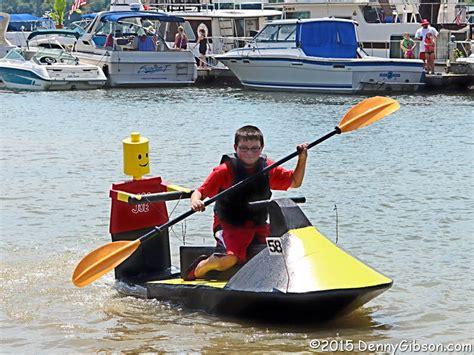 cardboard boat regatta names cardboard on the ohio denny g s road trips blog
