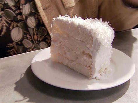 coconut cake icing coconut cake with 7 minute frosting recipe alton brown