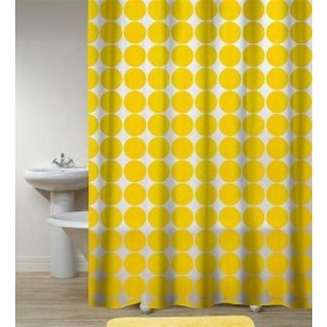 shower curtain yellow 10 yellow shower curtain designs rilane