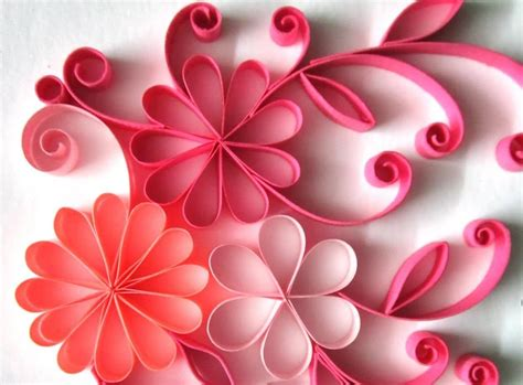 flower design using colored paper quilling made easy how to make beautiful quilling paper