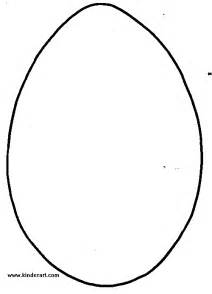 egg shape template easter ideas