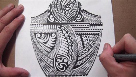 tribal filler tattoo maori polynesian tribal half sleeve design adding