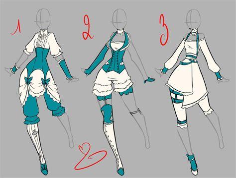 anime design steunk dress design by rika dono on deviantart