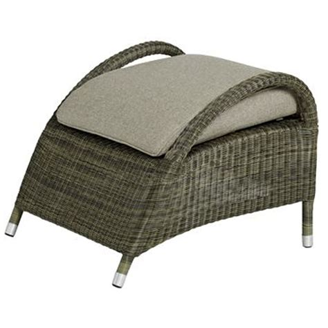 Outdoor Patio Footstools by 4 Seasons Sussex Footstool Unbeatable Deals