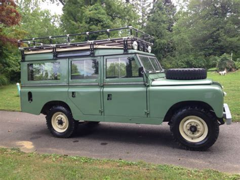 land rover series 3 4 door 1964 land rover 109 series iia station wagon 5 door