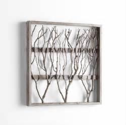 Wood Wall Decor by Twigs Framed Wood Wall Decor By Cyan Design
