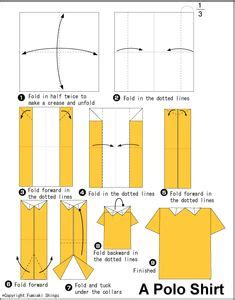 How To Fold A Paper Shirt - 1000 images about origami on origami