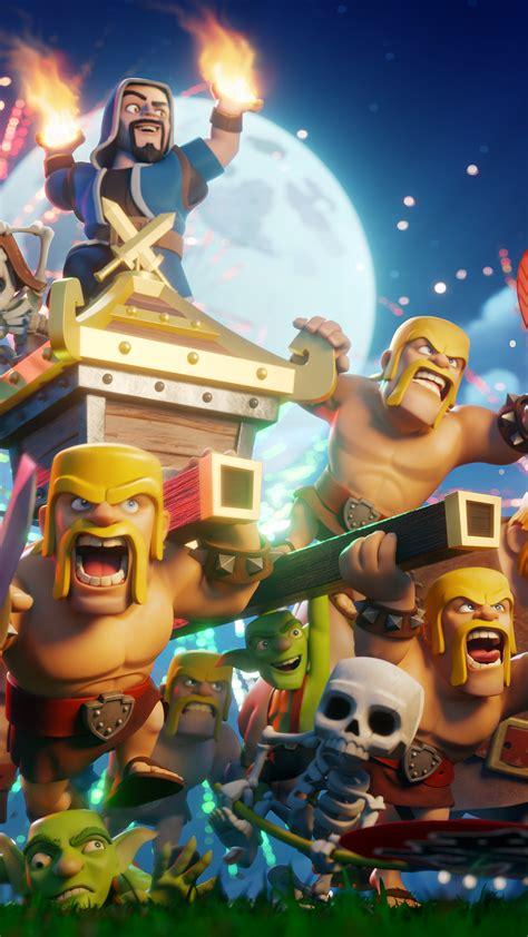 wallpaper especial de  anos de clash  clans clash