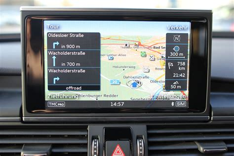 Audi Navi Mmi Plus by Mmi Navigation Med Mmi Touch A6 4g Cartrends Dk